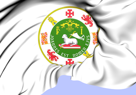 puertorico: Commonwealth of Puerto Rico Seal. Close Up.