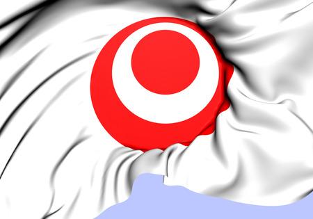okinawa: Symbol of Okinawa Prefecture, Japan. Close Up.    Stock Photo