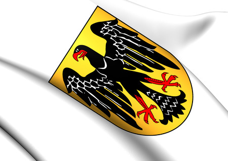 Escudo de armas de la Rep�blica de Weimar. Close Up. photo