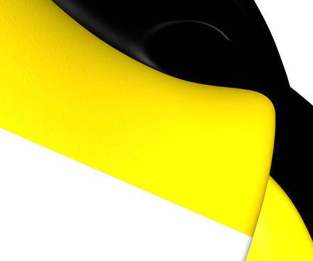 romanov: Flag of the Russian Empire. Close Up.