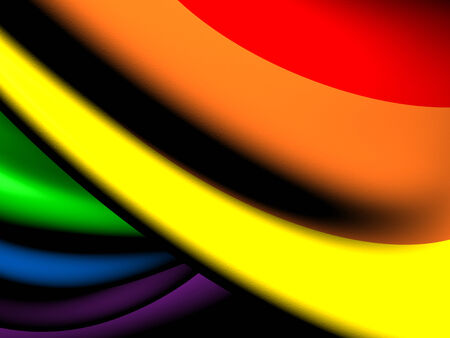 lgbt: Flag of LGBT. Close Up.  Stock Photo