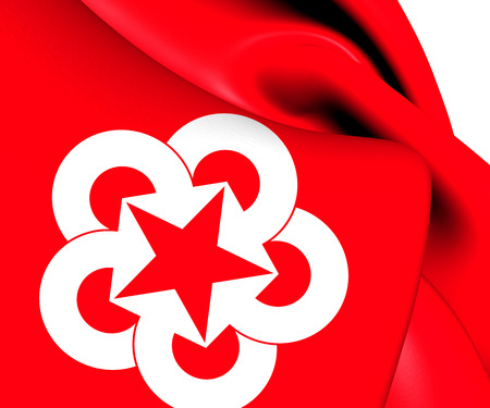mutual assistance: Flag of Council for Mutual Economic Assistance. Close Up.