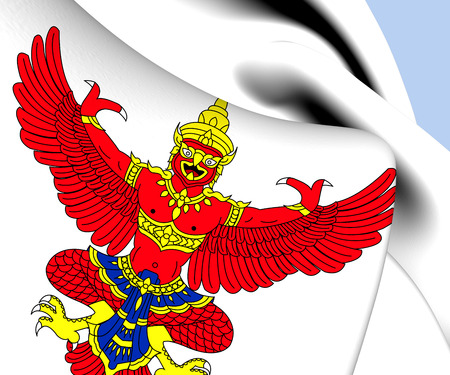 National Emblem of Thailand. Close Up.    photo