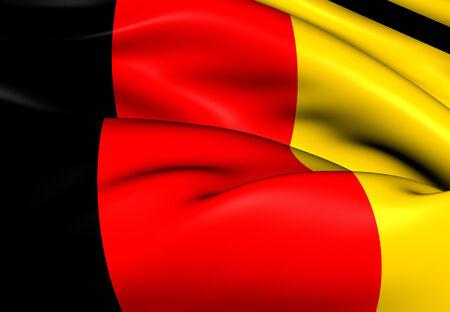 europe closeup: Flag of Germany. Close Up.    Stock Photo