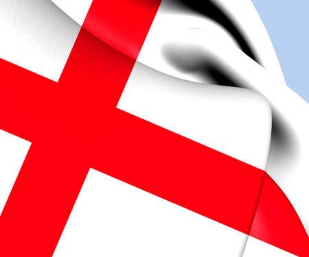 Flag of England. Close Up.    photo