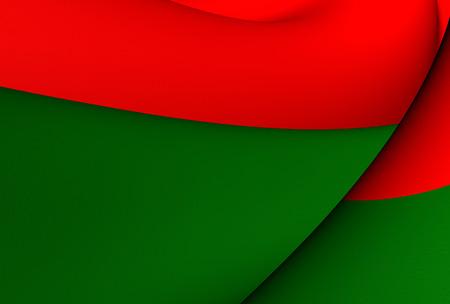 murillo: Flag of La Paz, Bolivia. Close Up. Stock Photo