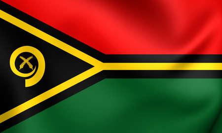republique: Flag of Vanuatu
