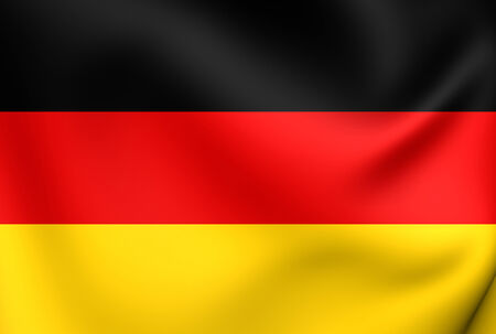 europe closeup: Flag of Germany. Close Up.
