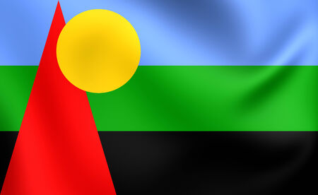 proposed: Flag of Reunion (Proposed). Close Up.