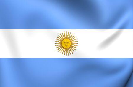 bandera argentina: Bandera de Argentina. De Cerca.