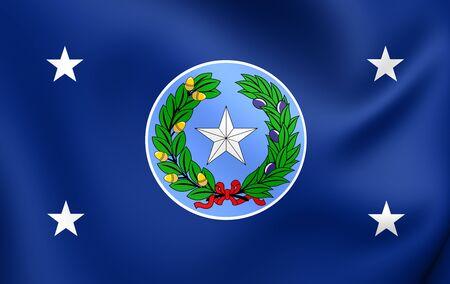 governor: Governor of Texas Standard, USA. Close Up.