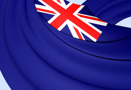 ensign: Government Ensign of United Kingdom. Close Up. Stock Photo