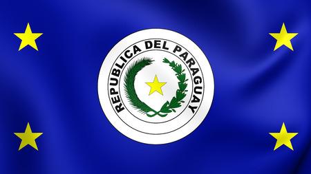 standard: President of Paraguay 3D Standard. Close Up.