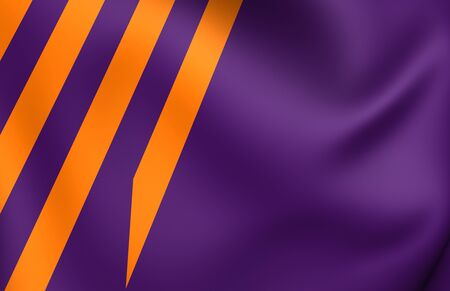 ministry: Ministry of Defence (Netherlands) Flag. Close Up.