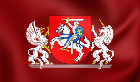 3D-president van Litouwen Standard. Detailopname.