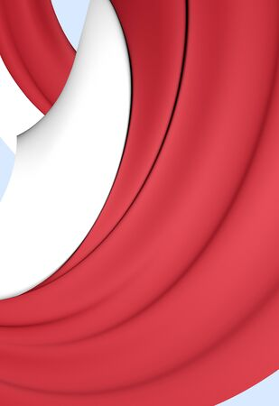 united arab emirate: 3D Flag of Dubai, United Arab Emirates. Close Up.
