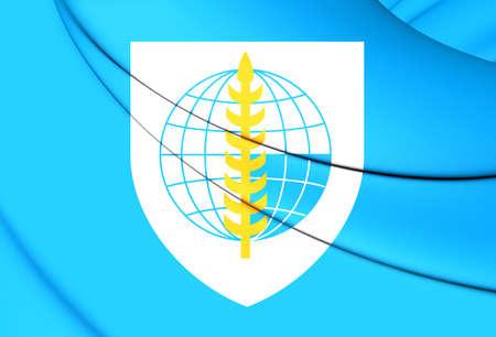 pacto: Indicador 3D de Organizaci�n del Tratado del Sudeste Asi�tico.
