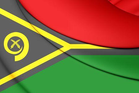 republique: 3D Flag of the Vanuatu