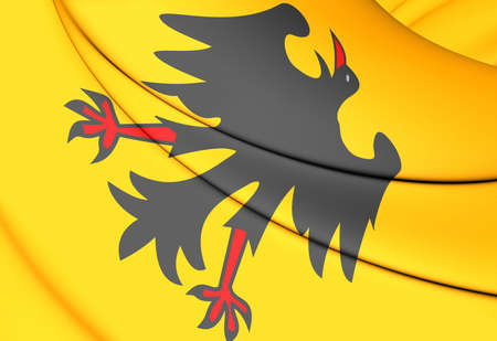 before: 3D Holy Roman Emperor Flag (Before 1400).