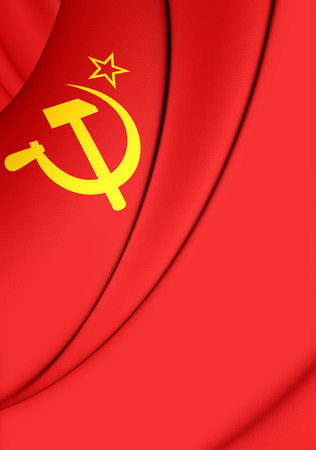 soviet: 3D Flag of the Soviet Union (1923-1955).