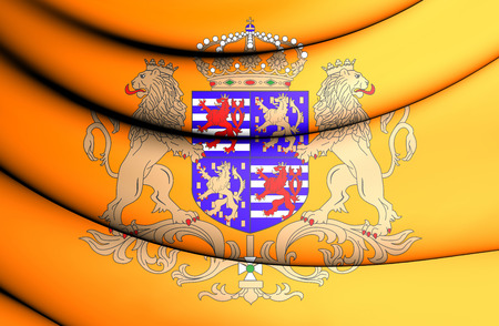 duke: Grand Duke of Luxembourg Standard. Close Up. Stock Photo