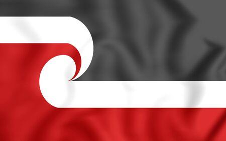 sovereignty: Tino Rangatiratanga Flag of the Maori sovereignty movement.