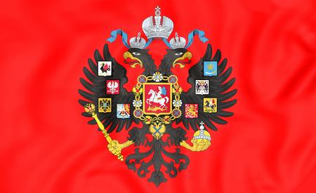 romanov: 3D Emperor of Russia Naval Standard (1858-1917).
