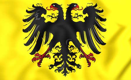 holy symbol: Banner 3D del emperador romano santo (despu�s de 1400).