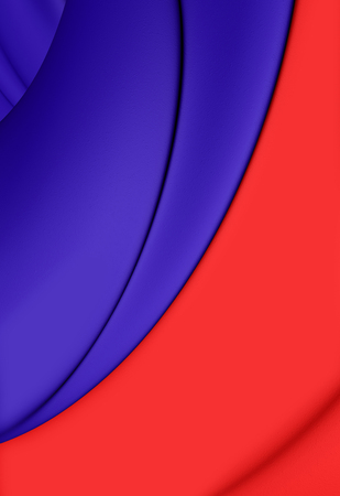 blason: 3D Flag of Paris, France. Close Up. Stock Photo
