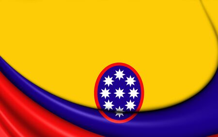 retailers: 3D Civil ensign of United States of Colombia.