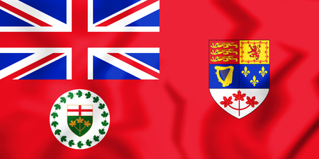 Lieutenant Governor of Ontario (1959-1965), Canada. 3D Illustration. Stock Photo
