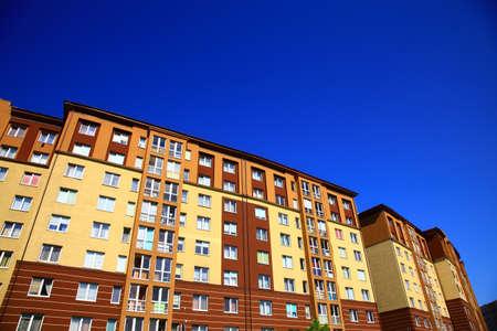 Apartment building in the Kaliningrad, Russia.