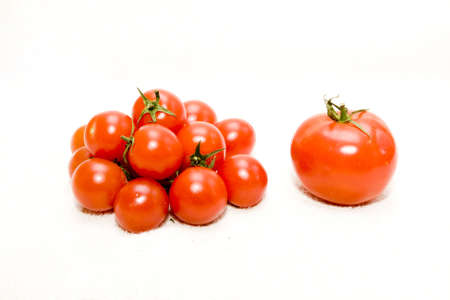 nonfat: handful tomatoes and one big tomato