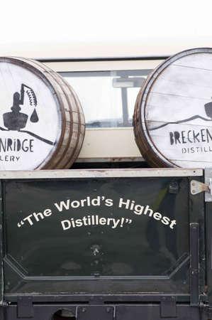 Breckenridge Distillery, 01262013 - Distillery Delivery Truck