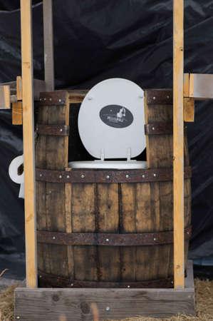 latrine: Breckenridge Distillery, 01262013 - Outside toilet