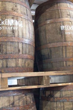 distillery: Breckenridge Distillery, 01262013 - Barrels Editorial