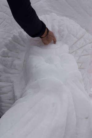 ice sculpture: Breckenridge, Colorado  01262013- Ice Sculpture Competition Bear Canada - Yukon