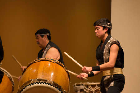 Golden, Co. 02012013 Denver Taiko Drummers at The Asian Cultural Festival