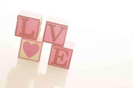 Valentines Day Love Blocks