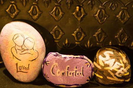 vehemence: Emotion Rocks - Loved, Comforted, Safe