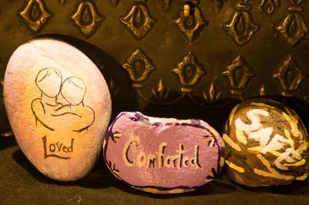 despondency: Emotion Rocks - Loved, Comforted, Safe