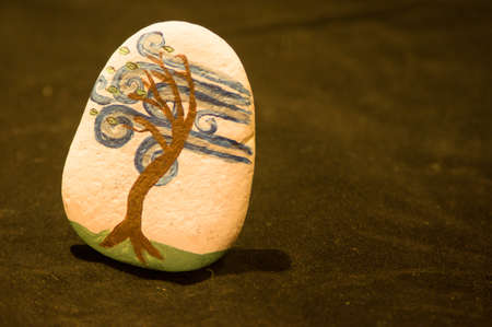 resilient: Emotion Rock - Resilient Stock Photo