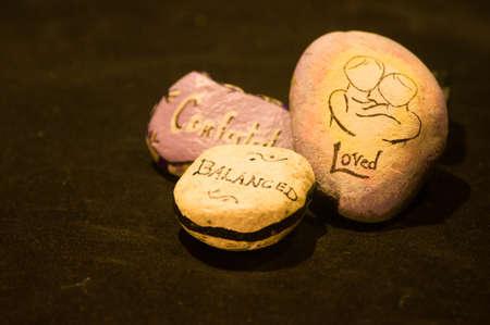 comforted: Emotion Rocks - Comforted, Loved, Balanced