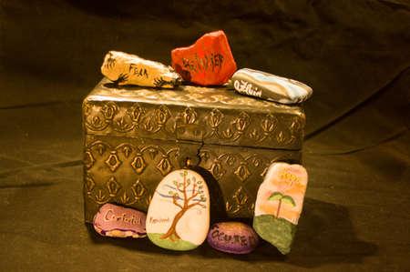 vehemence: Emotion Rocks on Metal Box