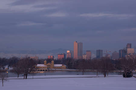 Downtown Denver Skyline at Dawn photo