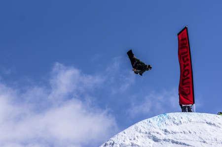 anon: Vail, Co. - February 28, 2013 - Burton US Open Snowboarding Championship Half Pipe Slopestyle