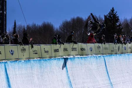 anon: Vail, Co. - February 28, 2013 - Burton US Open Snowboarding Championship Half Pipe Ryan Wachendorfer