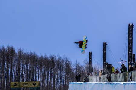 mensch: Vail, Co. - February 28, 2013 - Burton US Open Snowboarding Championship Half Pipe Joseph Mensch