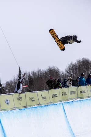 anon: Vail, Co. - February 28, 2013 - Burton US Open Snowboarding Championship Half Pipe Stale Sandbech Editorial