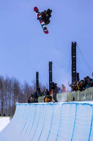 anon: Vail, Co. - February 28, 2013 - Burton US Open Snowboarding Championship Half Pipe Vail, Co. - February 28, 2013 - Burton US Open Snowboarding Championship Half Pipe Ayumu Hirano Editorial